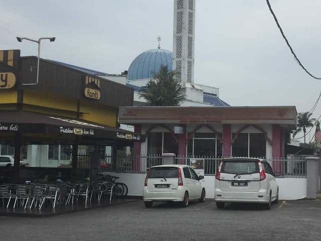 masjid saidina hamzah batu muda
